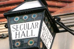 Ornate Lantern at Secular Hall